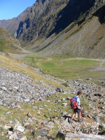 Foto: Wolfgang Lauschensky / Wander Tour / Hochgolling - über den NW-Grat / Abstieg in den Gollingwinkel / 08.10.2011 16:20:02