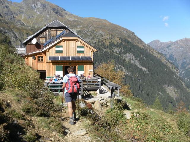 Foto: Wolfgang Lauschensky / Wander Tour / Hochgolling - über den NW-Grat / Gollinghütte / 08.10.2011 16:19:53