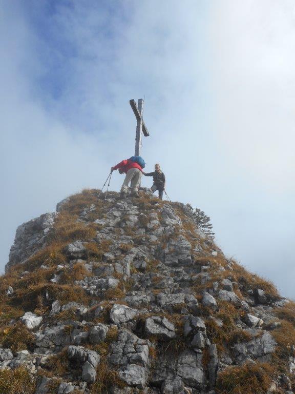 Foto: hans.s / Wander Tour / Von der Kenzenhütte auf den Kenzenkopf / Aufstieg zum Gipfel / 15.10.2015 15:34:09