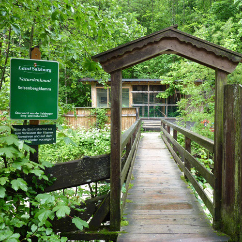 Foto: 518205 / Wandertour / Durch die Seisenbergklamm nach Pürzelbach / Eingang zur Seisenbergklamm / 31.08.2011 16:56:23