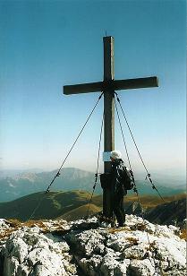 Foto: Wolfgang Dröthandl / Wander Tour / Hohe Weichsel - Runde / Blick nach Osten zur Hohen Veitsch / 31.01.2011 12:16:35