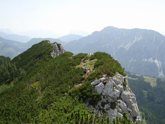 Foto: Günter Siegl / Wander Tour / Vom Gleinkersee auf den Seespitz / rechts der Bosruck / 28.07.2012 21:08:02