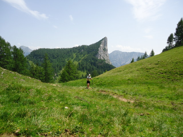 Foto: Günter Siegl / Wander Tour / Vom Gleinkersee auf den Seespitz / Am Hals - Ausblick Stubwieswipfel / 28.07.2012 21:06:54