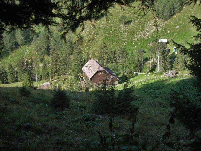 Foto: Wolfgang Dröthandl / Wander Tour / Kohlmaierhütte - Gmeineck, 2592m / Aufstieg von der Kohlmaierhütte / 21.11.2018 14:53:10