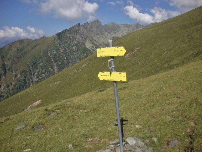 Foto: Wolfgang Dröthandl / Wander Tour / Kohlmaierhütte - Gmeineck, 2592m / Abzweigung Richtung Bergfriedhütte / 21.11.2018 14:51:44