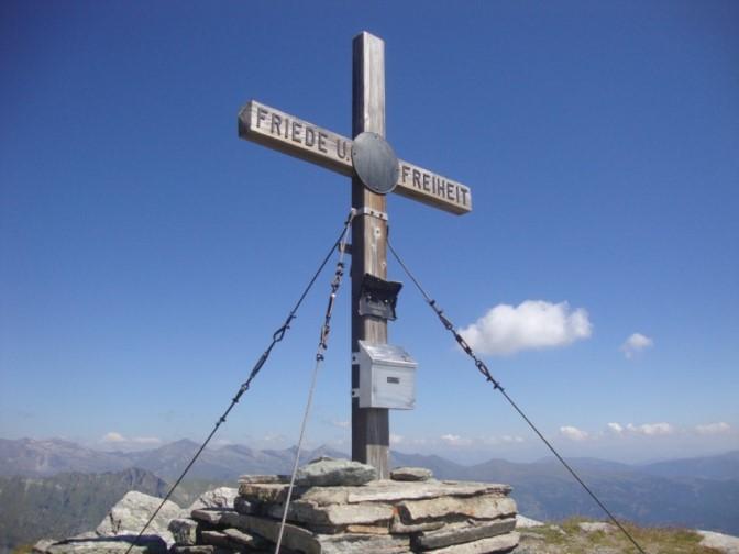 Foto: Wolfgang Dröthandl / Wander Tour / Kohlmaierhütte - Gmeineck, 2592m / Gmeineck - Gipfelkreuz / 21.11.2018 14:51:21