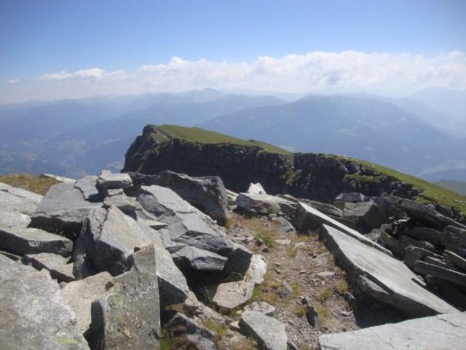Foto: Wolfgang Dröthandl / Wander Tour / Kohlmaierhütte - Gmeineck, 2592m / Gipfelblick Richtung Osten / 21.11.2018 14:51:05