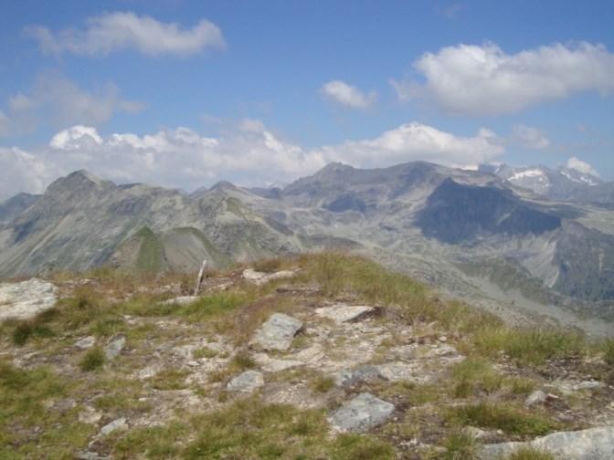Foto: Wolfgang Dröthandl / Wander Tour / Kohlmaierhütte - Gmeineck, 2592m / Gipfelblick Richtung Westen auf Reißeckgruppe (Hohe Leier, Reißeck) / 21.11.2018 14:50:22