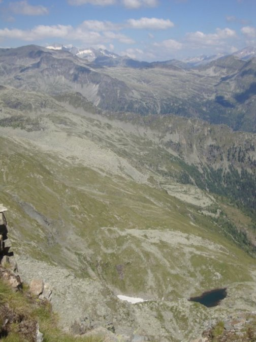 Foto: Wolfgang Dröthandl / Wander Tour / Kohlmaierhütte - Gmeineck, 2592m / Blick zur Hochalmspitze / 21.11.2018 14:49:50