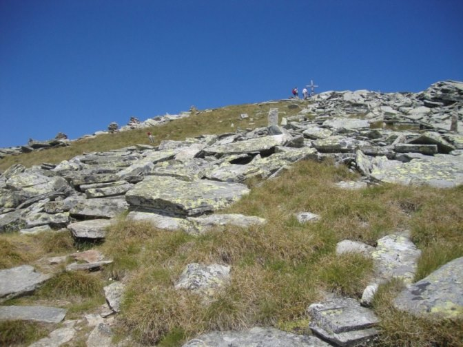Foto: Wolfgang Dröthandl / Wander Tour / Kohlmaierhütte - Gmeineck, 2592m / Abstieg vom Gipfel / 21.11.2018 14:49:13