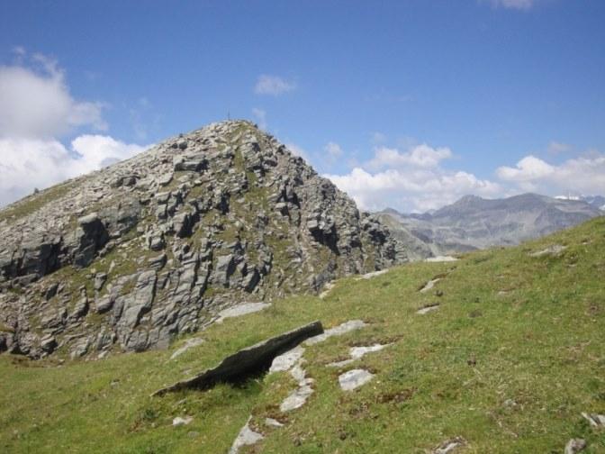 Foto: Wolfgang Dröthandl / Wander Tour / Kohlmaierhütte - Gmeineck, 2592m / Gipfelaufbau des Gmeineck von Osten / 21.11.2018 14:48:54
