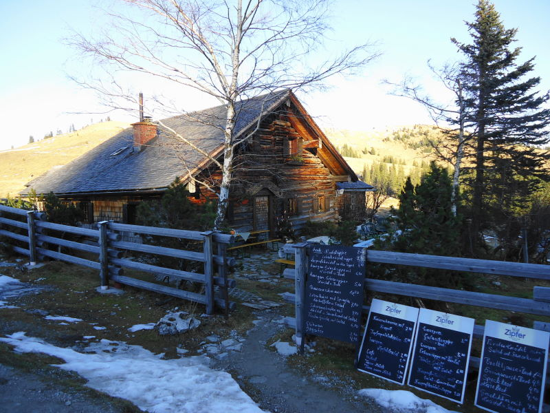 Foto: Günter Siegl / Wander Tour / Von der Postalm auf das Wiesler Horn, 1603m / Wieslerhütte / 28.12.2015 19:58:07