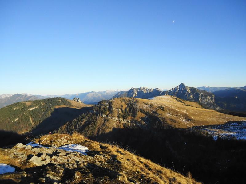 Foto: Günter Siegl / Wander Tour / Von der Postalm auf das Wiesler Horn, 1603m / Bleckwand, Sparber, Thorhöhe u.a. / 28.12.2015 19:57:10