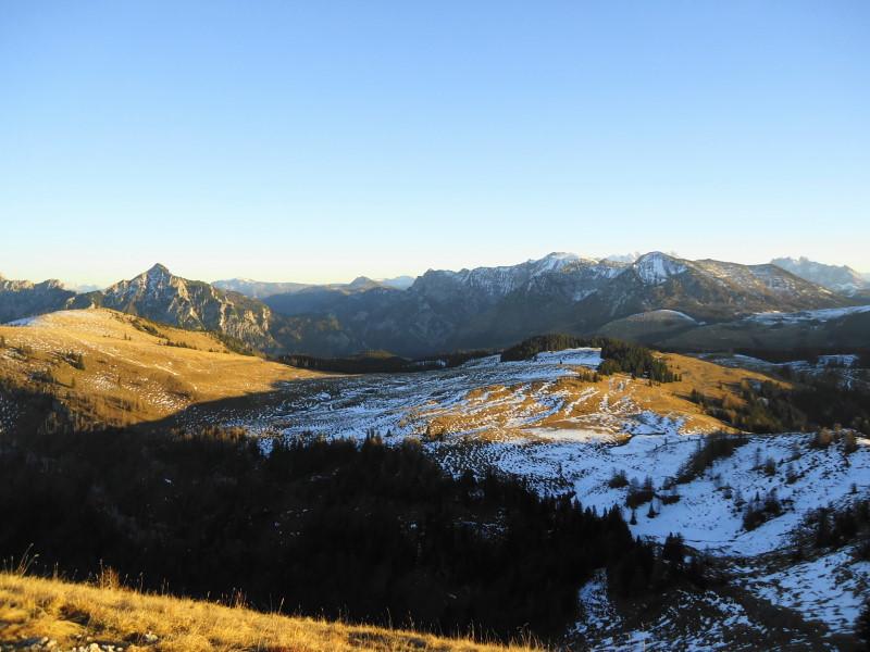 Foto: Günter Siegl / Wander Tour / Von der Postalm auf das Wiesler Horn, 1603m / Postalm / 28.12.2015 19:55:05