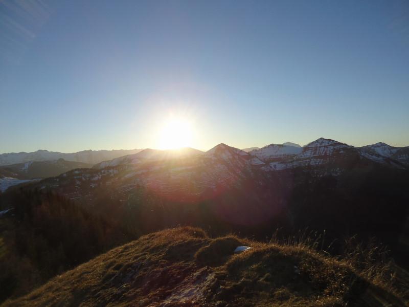 Foto: Günter Siegl / Wander Tour / Von der Postalm auf das Wiesler Horn, 1603m / Osterhorngruppe / 28.12.2015 19:54:46