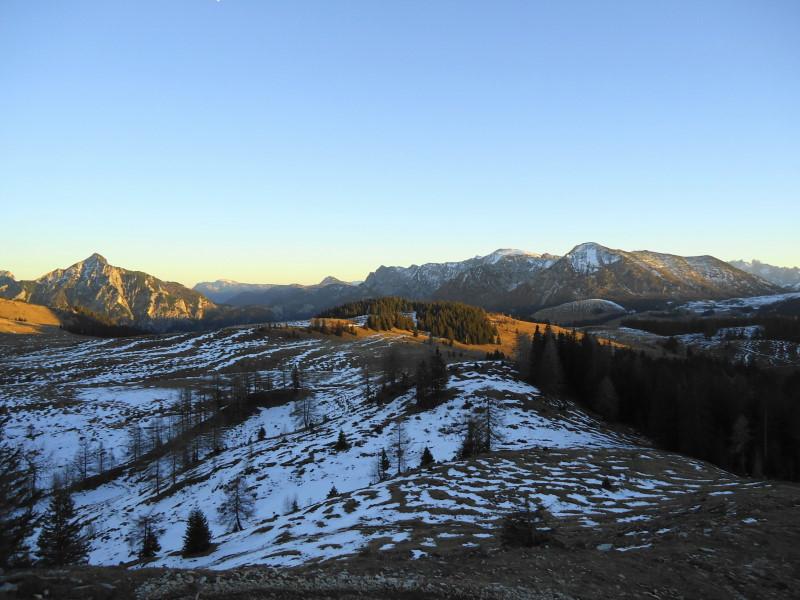 Foto: Günter Siegl / Wander Tour / Von der Postalm auf das Wiesler Horn, 1603m / 28.12.2015 19:52:20