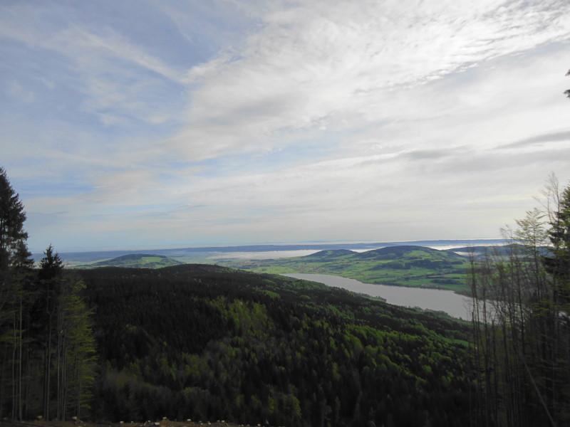 Foto: Günter Siegl / Wander Tour / Von Mondsee auf den Kolomannsberg, 1114m / Blick nach Norden / 07.05.2015 11:00:36