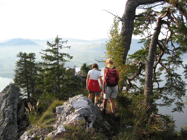 Foto: pepi4813 / Wander Tour / Kleiner Schönberg bei Gmunden / Am Gipfelgrat / 19.07.2009 10:37:41