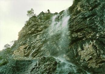 Foto: Wolfgang Dröthandl / Wander Tour / Ötschergräben - Grand Canyon Niederösterreichs / Mirafall / 16.05.2011 16:35:10