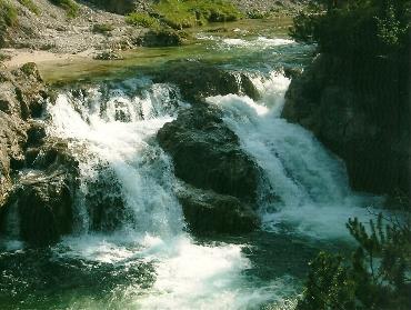 Foto: Wolfgang Dröthandl / Wander Tour / Ötschergräben - Grand Canyon Niederösterreichs / Auf dem Weg zum Ötscherhias, 20. 5. 2004 / 16.05.2011 16:31:15