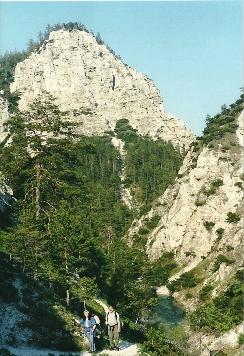 Foto: Wolfgang Dröthandl / Wander Tour / Ötschergräben - Grand Canyon Niederösterreichs / Auf dem Abschnitt Ötscherhias - Mirafall, 20. 5. 2004 / 16.05.2011 16:33:03
