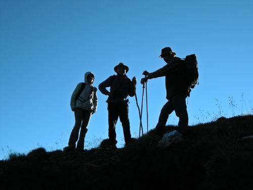 Foto: Redaktion Salzburg / Wander Tour / Von der Sticklerhütte auf das Weißeck / Aufstieg zum Weißeck / 15.07.2009 10:28:00