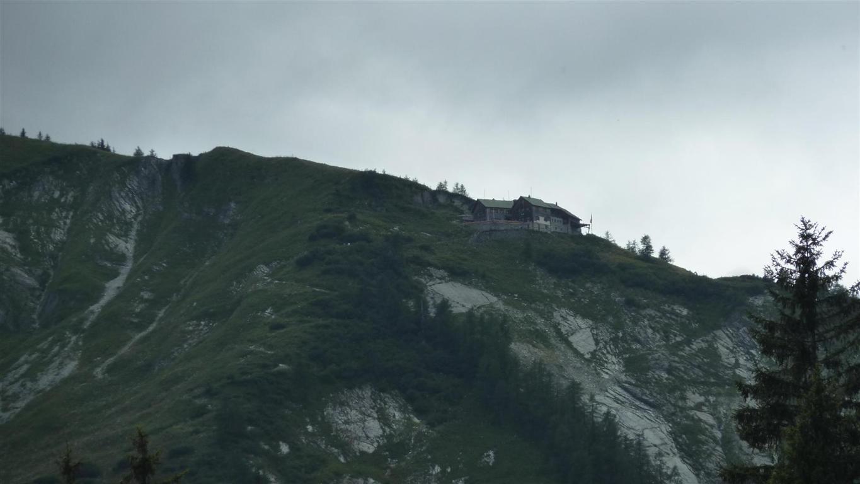 Foto: Karl Littke / Wander Tour / Hoher Göll (Purtscheller Haus - Stahlhaus) / Purtschellerhaus / 17.08.2011 11:13:40