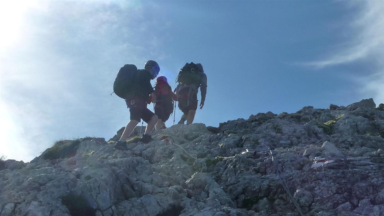 Foto: Karl Littke / Wander Tour / Hoher Göll (Purtscheller Haus - Stahlhaus) / kurz vor dem Gipfel / 17.08.2011 11:15:39