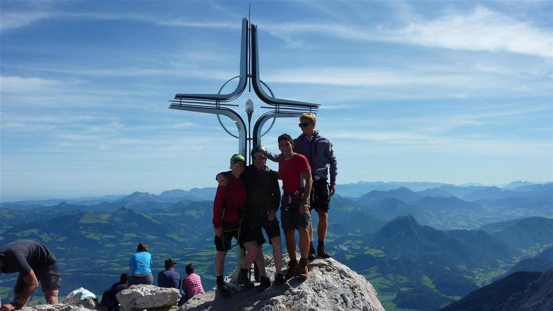 Foto: Karl Littke / Wander Tour / Hoher Göll (Purtscheller Haus - Stahlhaus) / Gipfel / 17.08.2011 11:16:54