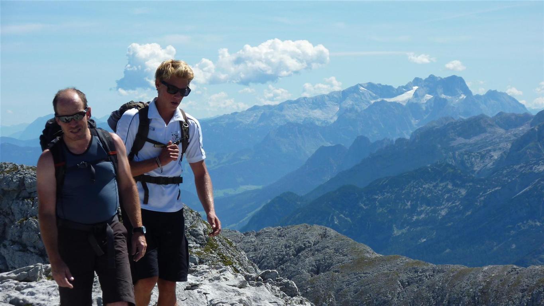Foto: Karl Littke / Wander Tour / Hoher Göll (Purtscheller Haus - Stahlhaus) / Brettriedel / 17.08.2011 11:18:41