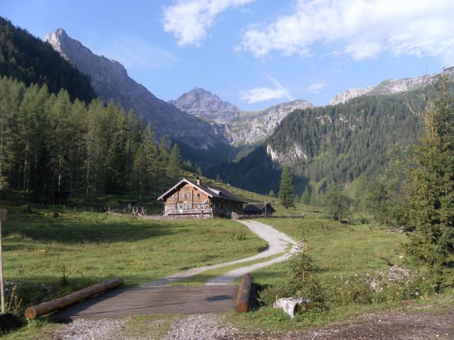 Foto: Wolfgang Lauschensky / Wandertour / Neukarsee und Faulkogel / Faulkogel aus dem Marbachtal (Prechtlhütte) / 05.08.2012 22:20:57