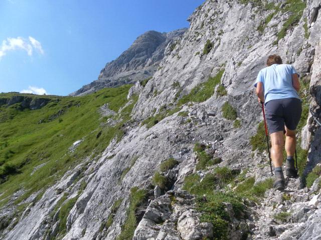 Foto: Wolfgang Lauschensky / Wander Tour / Neukarsee und Faulkogel / Felsquerung zum Neukarsee / 05.08.2012 22:20:41