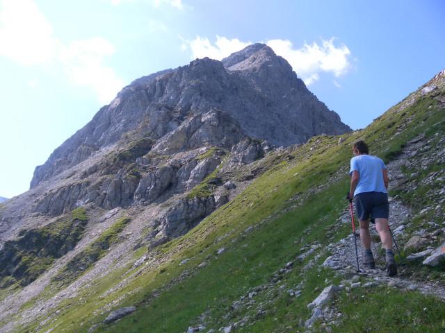 Foto: Wolfgang Lauschensky / Wander Tour / Neukarsee und Faulkogel / Faulkogelnordgrat aus der Neukarscharte / 05.08.2012 22:20:29