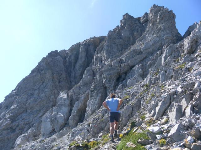 Foto: Wolfgang Lauschensky / Wander Tour / Neukarsee und Faulkogel / Querung zur kaminartigen Schlucht / 05.08.2012 22:19:58