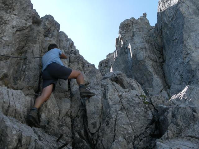 Foto: Wolfgang Lauschensky / Wander Tour / Neukarsee und Faulkogel / gesicherte Schlucht / 05.08.2012 22:19:44