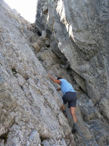 Foto: Wolfgang Lauschensky / Wandertour / Neukarsee und Faulkogel / gesicherte Kletterei  / 05.08.2012 22:19:32