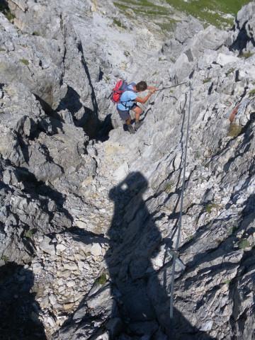 Foto: Wolfgang Lauschensky / Wandertour / Neukarsee und Faulkogel / Ausstieg aus der Schlucht / 05.08.2012 22:19:20