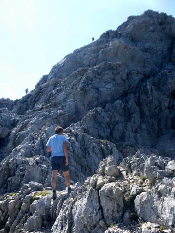 Foto: Wolfgang Lauschensky / Wander Tour / Neukarsee und Faulkogel / Gratquerung zum Gipfelstock / 05.08.2012 22:18:56