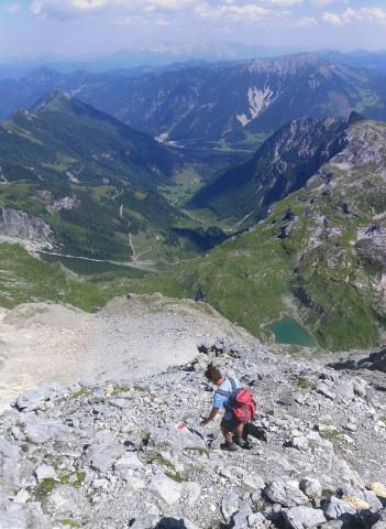 Foto: Wolfgang Lauschensky / Wander Tour / Neukarsee und Faulkogel / Neukarsee und Marbachtal / 05.08.2012 22:17:56