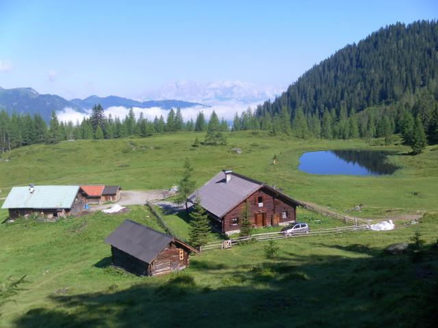 Foto: Wolfgang Lauschensky / Wander Tour / Blauer See und Ennskraxen / Steinkarhütten / 22.07.2011 17:55:43