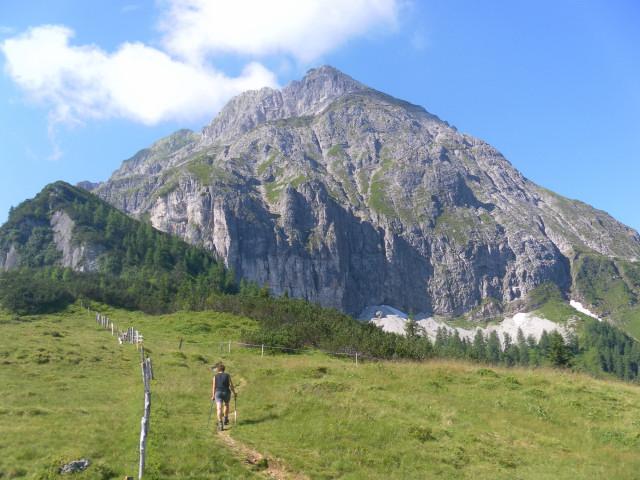 Foto: Wolfgang Lauschensky / Wander Tour / Blauer See und Ennskraxen / Seekopf und Ennskraxen / 22.07.2011 17:55:57