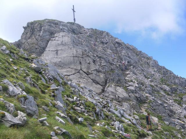 Foto: Wolfgang Lauschensky / Wander Tour / Blauer See und Ennskraxen / Querung zum Gipfelstock / 22.07.2011 17:53:34