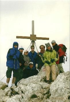 Foto: Wolfgang Dröthandl / Wander Tour / Vom Bodental auf den Hochstuhl / Hochstuhl - Gipfel / 16.05.2011 16:58:29