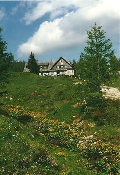 Foto: Wolfgang Dröthandl / Wander Tour / Vom Bodental auf den Hochstuhl / Klagenfurter Hütte / 16.05.2011 16:47:29
