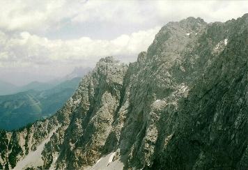 Foto: Wolfgang Dröthandl / Wander Tour / Vom Bodental auf den Hochstuhl / Vertatscha - Nordwände von der Bielschitza / 16.05.2011 17:04:18