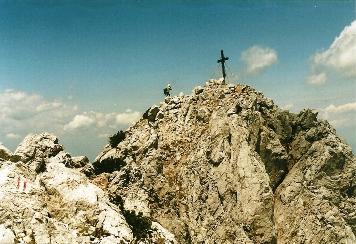 Foto: Wolfgang Dröthandl / Wander Tour / Vom Bodental auf den Hochstuhl / Sehr lohnender Abstecher auf dem Weg zum Hochstuhl: Bielschitzagipfel, Blick vom Grat / 16.05.2011 17:06:48