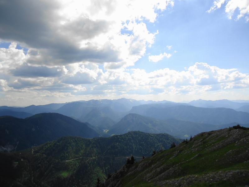 Foto: Günter Siegl / Wander Tour / Vom Niederalpl auf den (die) Tonion / Blick zum Hochschwab / 13.06.2014 15:10:34