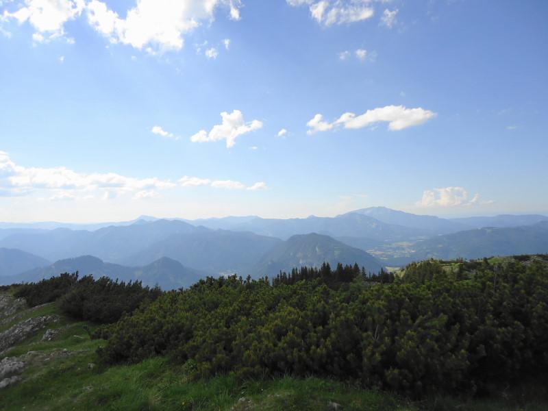 Foto: Günter Siegl / Wander Tour / Vom Niederalpl auf den (die) Tonion / Blick zu den Zeller Hüten / 13.06.2014 15:10:44