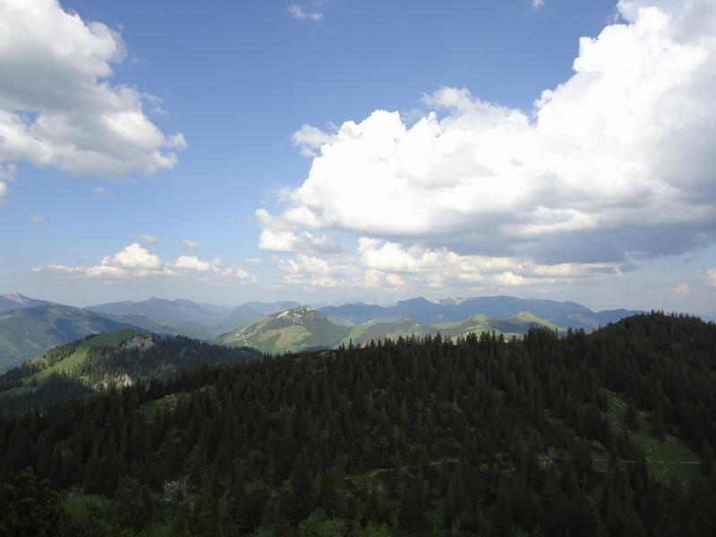 Foto: Günter Siegl / Wander Tour / Vom Niederalpl auf den (die) Tonion / Blick zu den Königskogeln und Proles / 13.06.2014 15:11:36