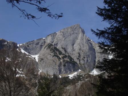 Foto: Wolfgang Dröthandl / Wander Tour / Hochschwabrunde übers G´hackte / Zinken vom Bodenbauer / 01.04.2014 14:44:40